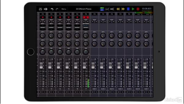 Record MIDI tracks: Up and Running with Auria Pro