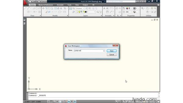 Synchronizing the interface: AutoCAD 2009: Annotation