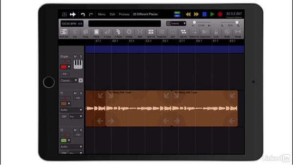 Edit with Cut, Copy, and Paste: Up and Running with Auria Pro
