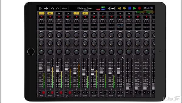 Basic mixing: Up and Running with Auria Pro