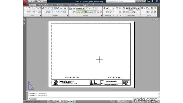 Viewing annotative objects: AutoCAD 2009: Annotation