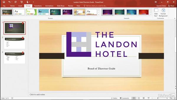 Welcome: Learn PowerPoint 2016: The Basics