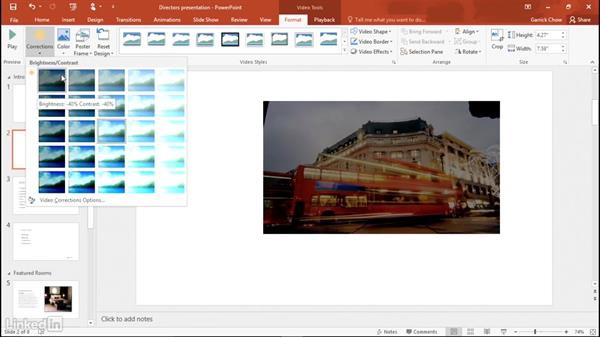 Adding video: Learn PowerPoint 2016: The Basics