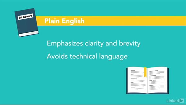 Welcome: Writing in Plain English