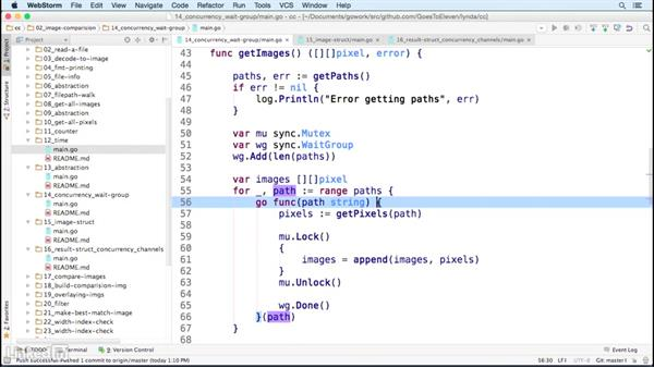 Optimizing our code with concurrency: Code Clinic: Go