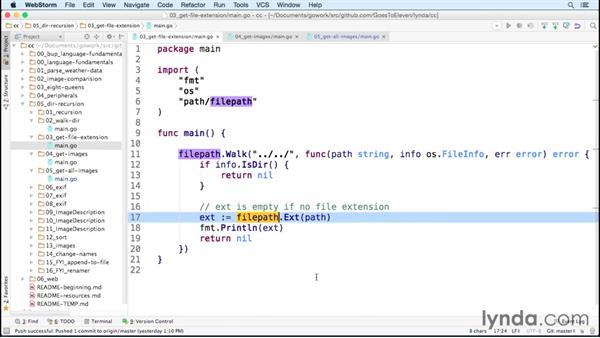Accessing files using filepath.Walk: Code Clinic: Go