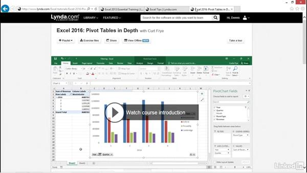 Next steps: Excel 2016: Charts in Depth