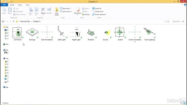Using the exercise files: MEP Families in Revit