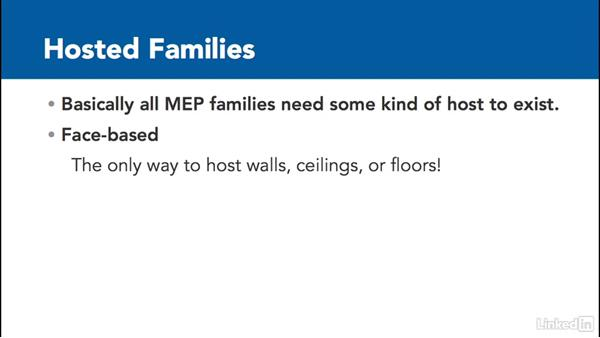 What is a Revit family?: MEP Families in Revit