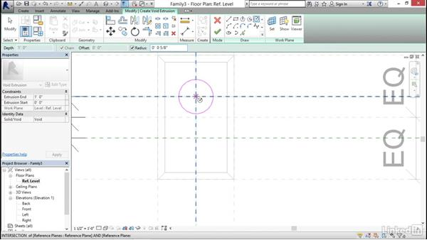 Creating a receptacle: MEP Families in Revit