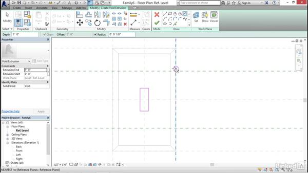 Creating a light switch: MEP Families in Revit