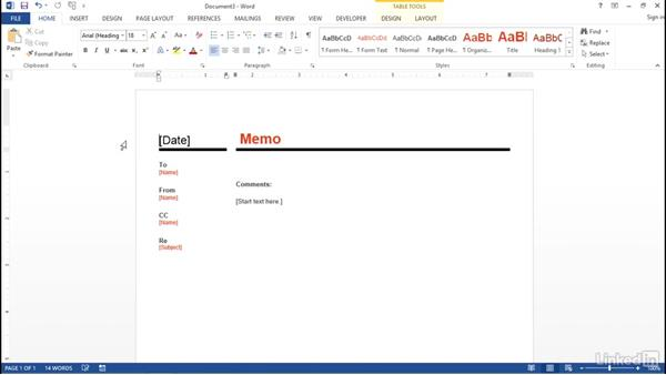Create a new document: Word 2013: Prepare for the Microsoft Office Specialist Certification Exam (77-418)