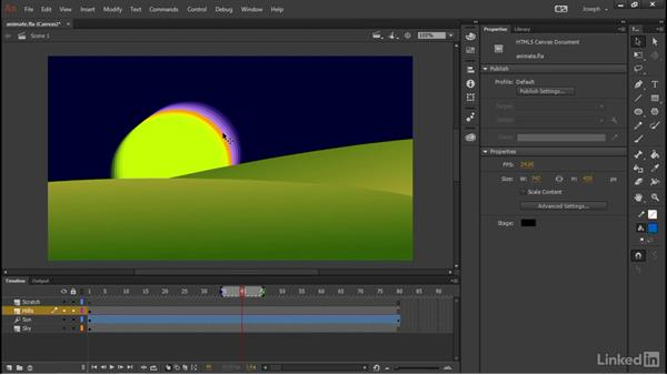 Application interface improvements: Adobe Animate CC: First Look