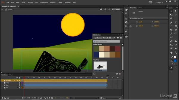 CC Libraries and Adobe Stock: Adobe Animate CC: First Look