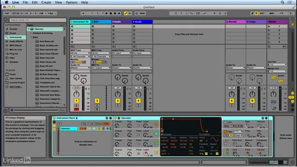 Introduction to Operator: Up and Running with Ableton Operator