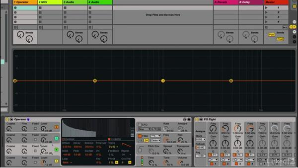 Choosing an oscillator waveshape: Up and Running with Ableton Operator