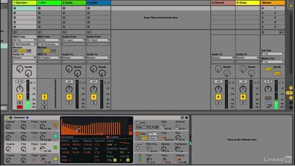 Creating custom oscillator waveshapes: Up and Running with Ableton Operator
