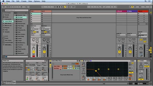 "Adding low end with a ""sub"" oscillator: Up and Running with Ableton Operator"