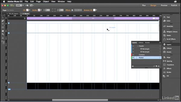 Working with layers in Muse: Muse Essential Training (2015)