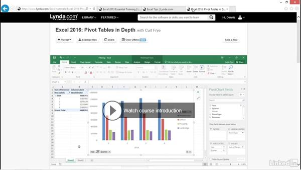 Next steps: Excel 2016: Advanced Formatting Techniques