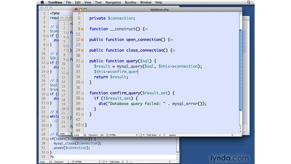 Adding queries to the MySQL Database class: PHP with MySQL Beyond the Basics
