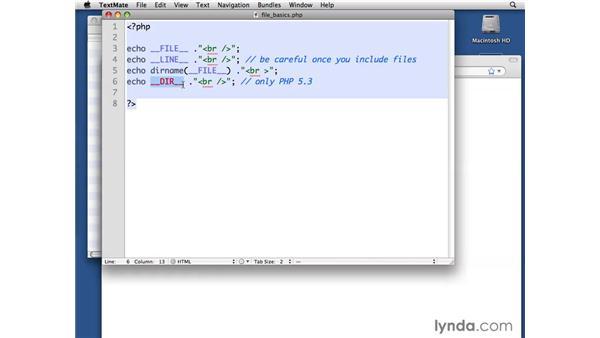 File system basics: PHP with MySQL Beyond the Basics