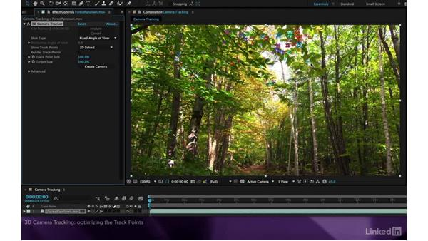 3D camera tracking: After Effects Apprentice 19: Motion Tracking with CINEMA 4D Lite