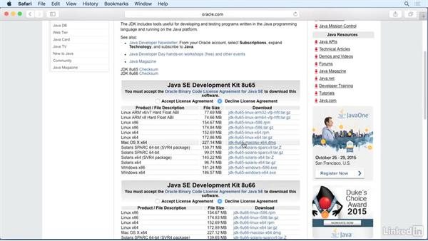 Install the Java Development Kit (JDK): Up and Running with Java Applications