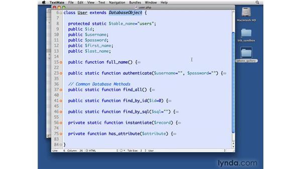 Remaining user CRUD: PHP with MySQL Beyond the Basics