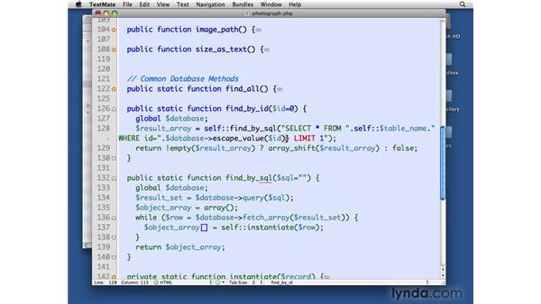 Deleting photographs: PHP with MySQL Beyond the Basics