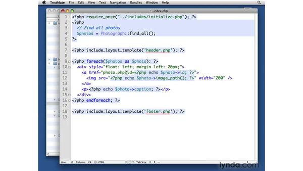 Displaying photographs in the public area: PHP with MySQL Beyond the Basics