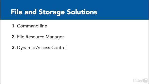 File and storage solutions: Windows Server 2012 R2: Configure File and Storage Solutions