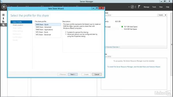Server Manager disk storage: Windows Server 2012 R2: Configure File and Storage Solutions