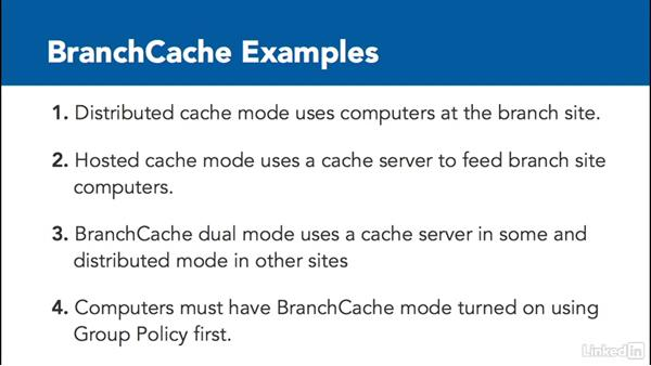 Configure BranchCache: Windows Server 2012 R2: Configure File and Storage Solutions