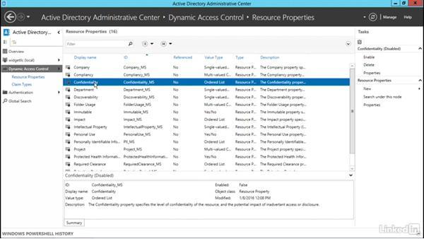Configure resource properties: Windows Server 2012 R2: Configure File and Storage Solutions