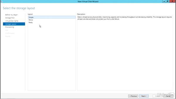 Create a RAID mirror: Windows Server 2012 R2: Configure File and Storage Solutions