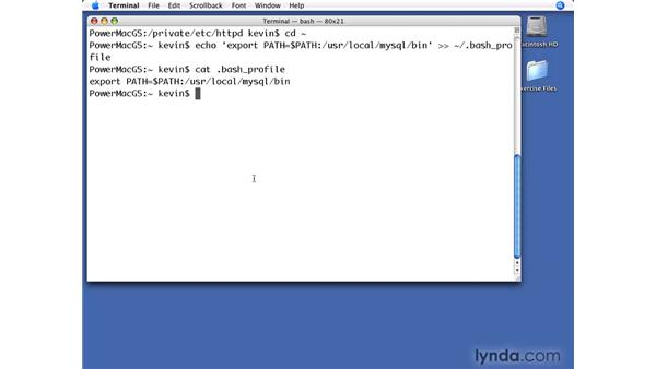 Configuring a Mac: PHP with MySQL Beyond the Basics