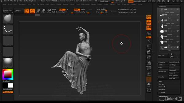 Before watching this course: ZBrush: Learn to Sculpt Cloth