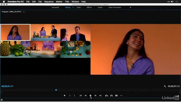 Using the exercise files: Multi-Camera Video Production and Post