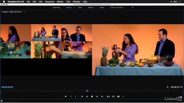 Recording multicamera edits: Multi-Camera Video Production and Post
