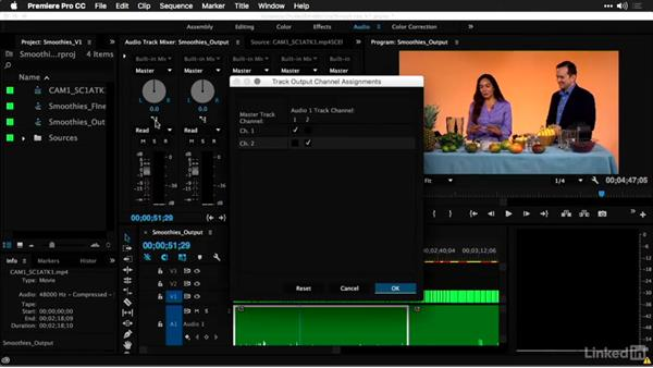 Flattening multicamera sequences and final mastering: Multi-Camera Video Production and Post