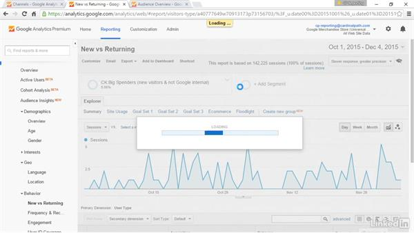 Clean data and identify big spenders in custom segments: Advanced Google Analytics