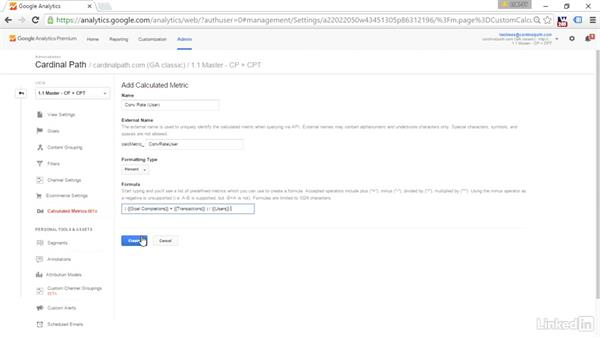 Calculated metrics: Advanced Google Analytics