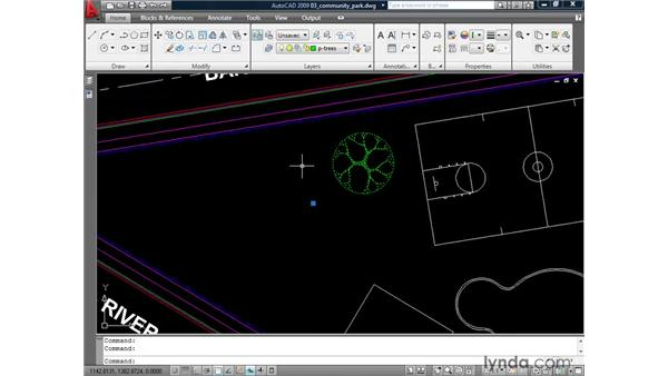 Using DWG files to create blocks: AutoCAD 2009: Mastering References