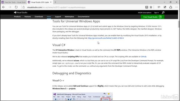 Setting up your environment: Developing Universal Windows Apps