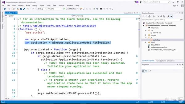 Understanding application lifecycle and state: Developing Universal Windows Apps