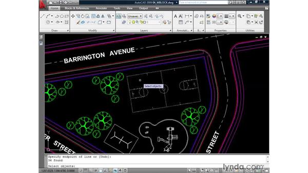 Understanding the WBLOCK command: AutoCAD 2009: Mastering References