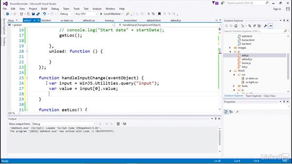 Save session data: Developing Universal Windows Apps