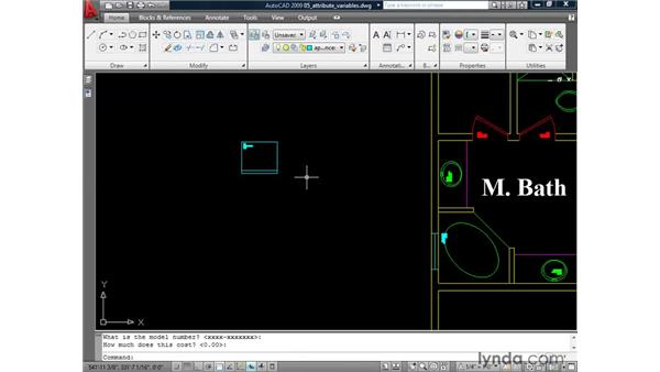 Understanding the attribute system variables: AutoCAD 2009: Mastering References