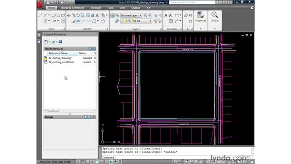 Creating a link to a DWG file: AutoCAD 2009: Mastering References